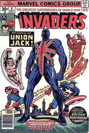 The first appearance of Union Jack is a comic I'm hunting down.